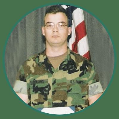 Charles Collins, US Navy Veteran