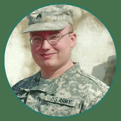 Roger Cushman, Army National Guard Veteran