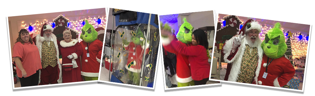 2018 TAPD Cops & Kids DInner with the LifeNet EMS Grinch in Texarkana, Arkansas