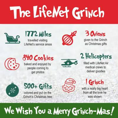 The LifeNet Grinch Infographic 2018