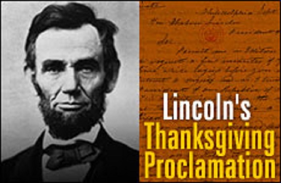 Lincoln's Thanksgiving Proclamation (Credit: lifenews.com)
