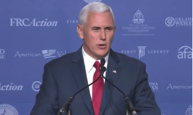 "Vice President Mike Pence: Joe Biden Supports ""Late-Term Abortions Right Up to the Moment of Birth"""