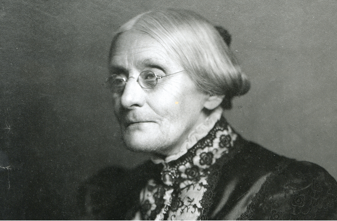 President Trump Pardons Women's Suffragist Susan B. Anthony, Who Opposed Abortion