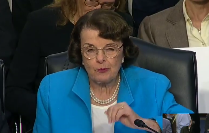 "Diane Feinstein Defended Christine Ford, Calls Tara Reade's Sexual Assault Allegations ""Ridiculous"""