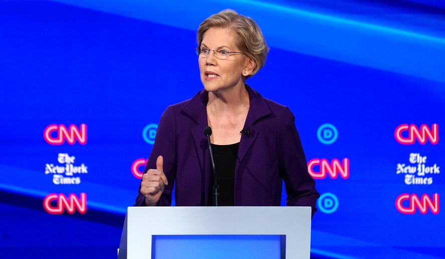 Abortion Activists Elizabeth Warren and Kamala Harris Make Joe Biden's VP Short List