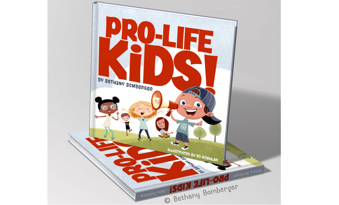 "New Children's Book ""Pro-Life Kids"" Powerfully Illustrates How Every Human Life Has Value"