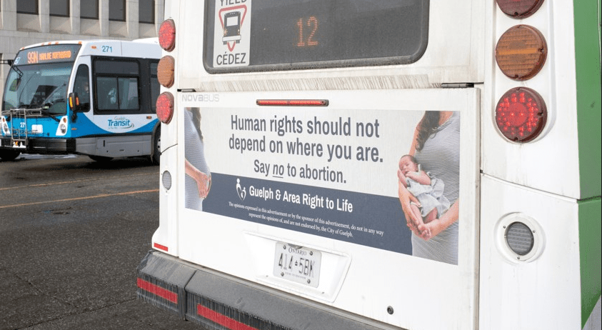 Censorship: Buses Take Down Pro-Life Group's Ads After Abortion Activists Complain