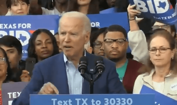 """Joe Biden Forgets """"the Creator"""" in the Declaration of Independence. Calls God """"the Thing"""""""