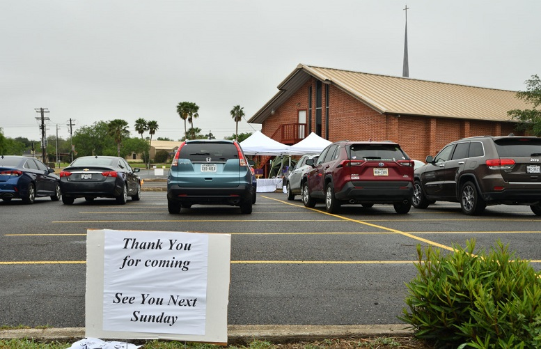 """Trump Admin Defends Christians Fined 0 Each for Attending """"Drive-In"""" Church Service"""