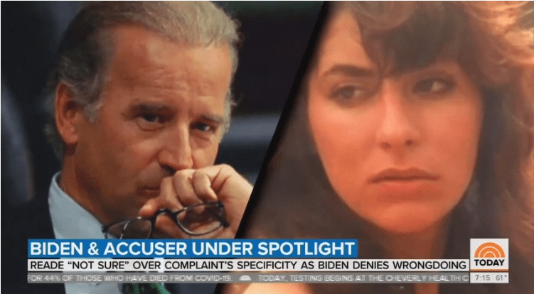 Study: CNN Ignored Sexual Assault Allegations Against Joe Biden for an Entire Month