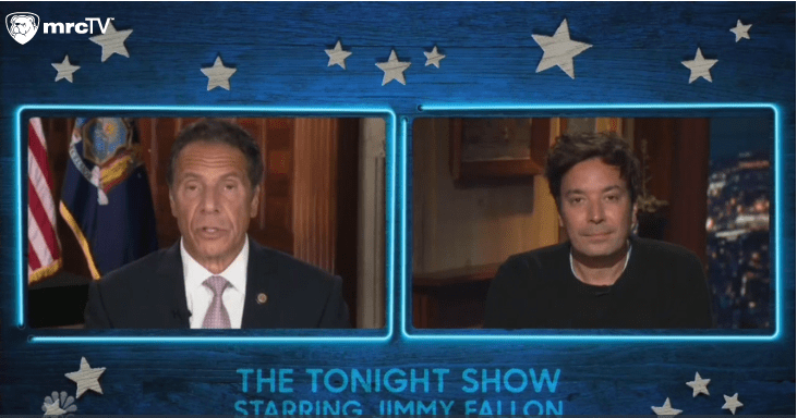 "Jimmy Fallon Praises Andrew Cuomo Despite Nursing Home Deaths: ""Such Amazing Leadership"""