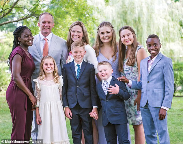 "Media Attacks Amy Comey Barrett's Kids: She's a ""White Colonizer"" for Adopting Black Children"