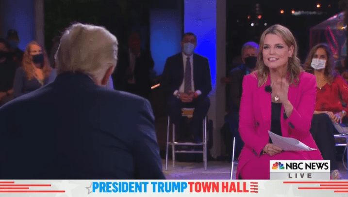 Savannah Guthrie Harassed, Interrupted Trump More Than George Stephanopoulos Went After Biden