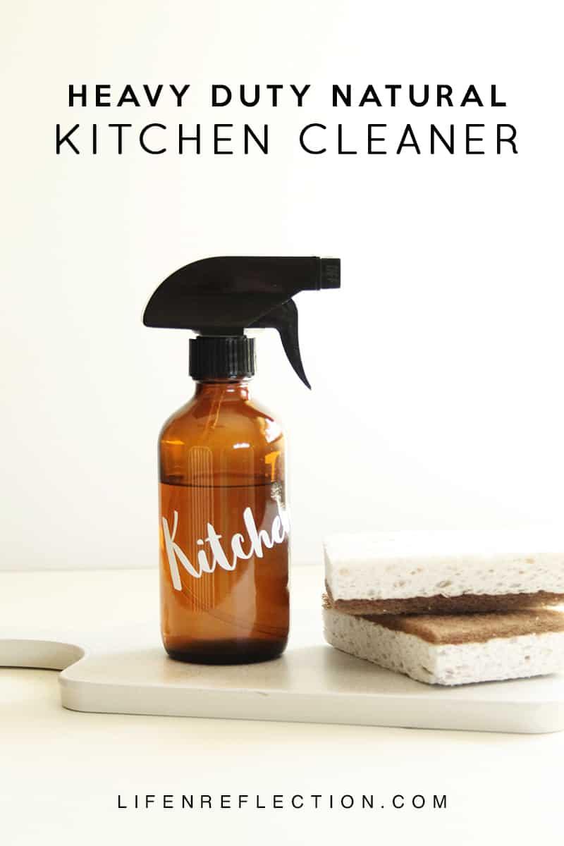 Heavy Duty DIY Natural Kitchen Cleaner  LifenReflection