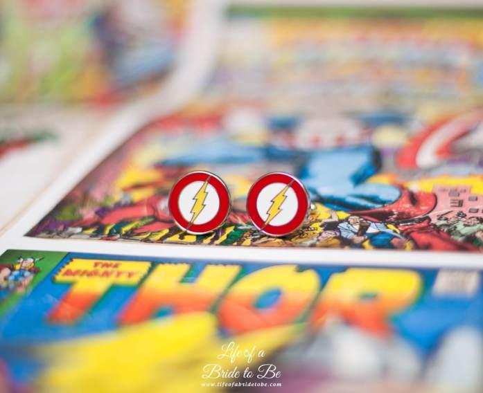 'The Flash' cufflinks