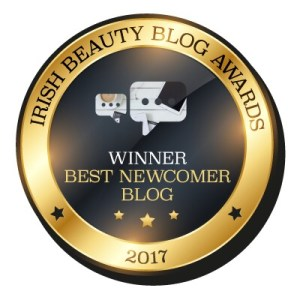 Irish Beauty Blog Awards Best Newcomer 2017