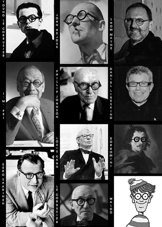 Architects and eyeglasses