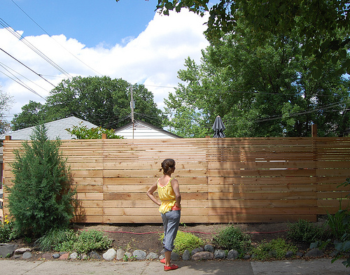Modern Fences - Use your imagination | Life of an Architect