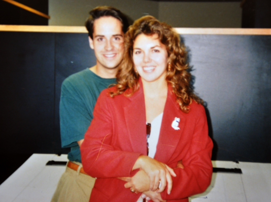 Michelle and Bob Borson - 1992