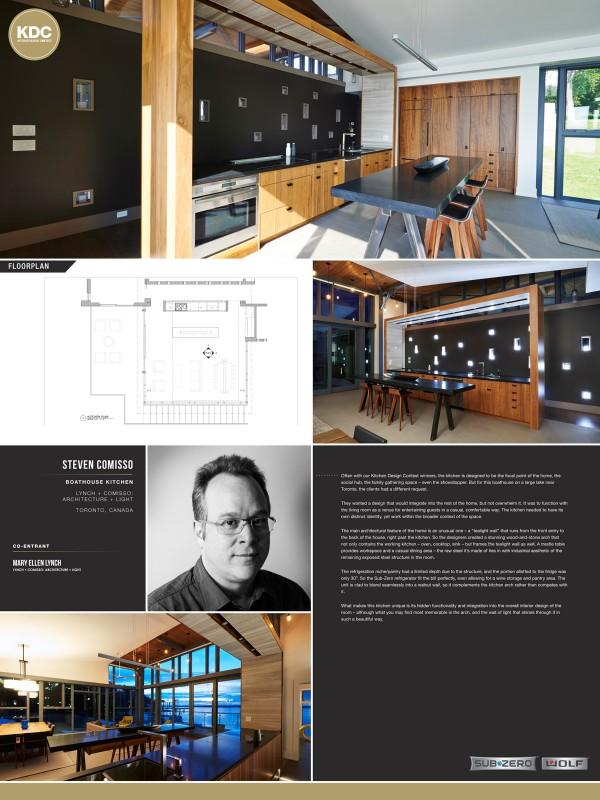 Steven Comisso with Mary Ellen Lynch - Boathouse Kitchen