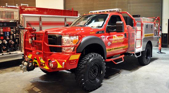 fire truck, skeeter truck, bush truck, fire hose, nozzle, big pickup truck, fire rescue truck