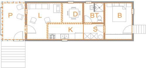 20K House Neufert study