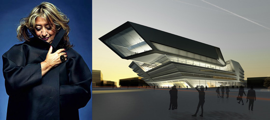 Architect Zaha Hadid
