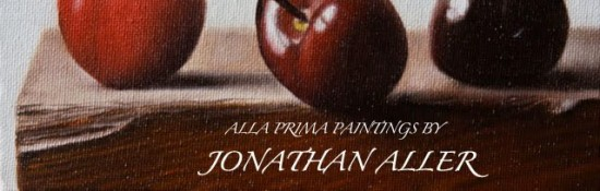 alla prima paintings by Jonathan Aller