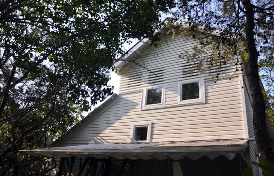 Mockbee Cocker Seaside House Rear Elevation