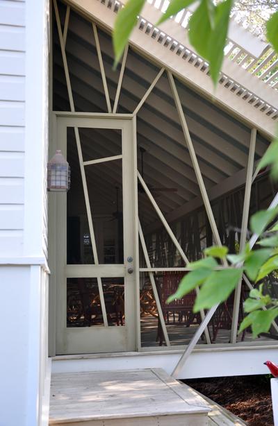 Mockbee Cocker Seaside Screen Porch Detail