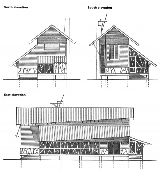 Building Front Elevation Drawings : Mockbee coker architects seaside house life of an