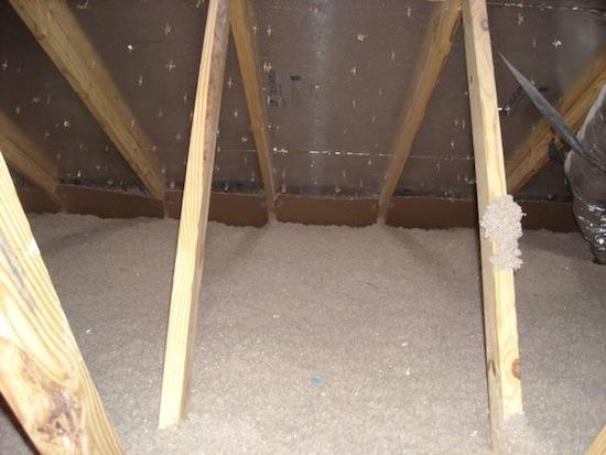 insulation blown cellulose complete coverage