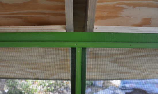 playhouse screen attachment detail