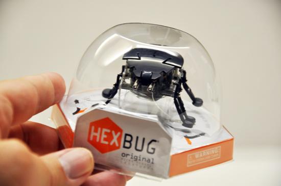 Hexbug packaging