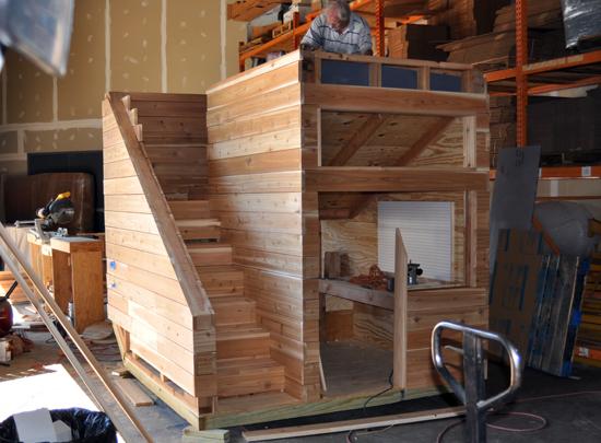 Planter House contruction progress front