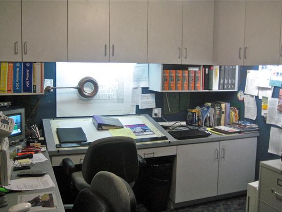 Earl Mark Kaplan's Desk