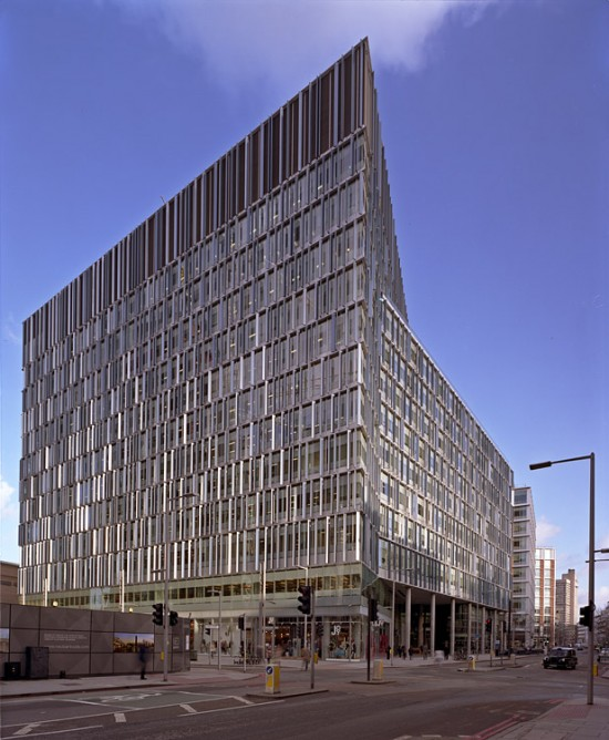The Blue Fin Building by Allies and Morrison