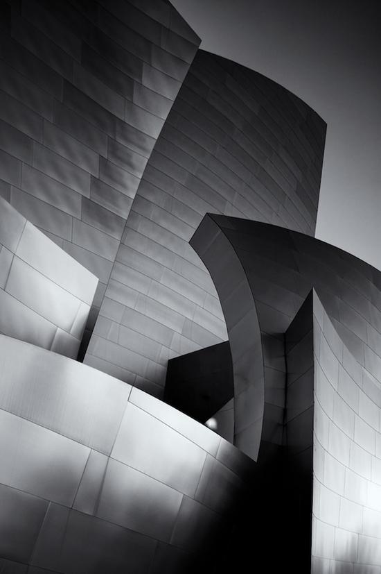 Walt Disney Concert Hall Facade Detail