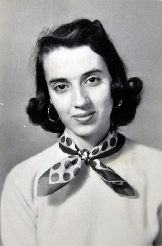 Aura Frances Borson - my mom