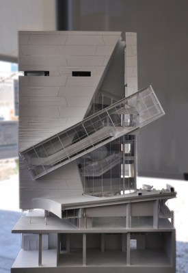 Perot Museum of Nature & Science model