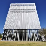 Wyly Theatre South elevation