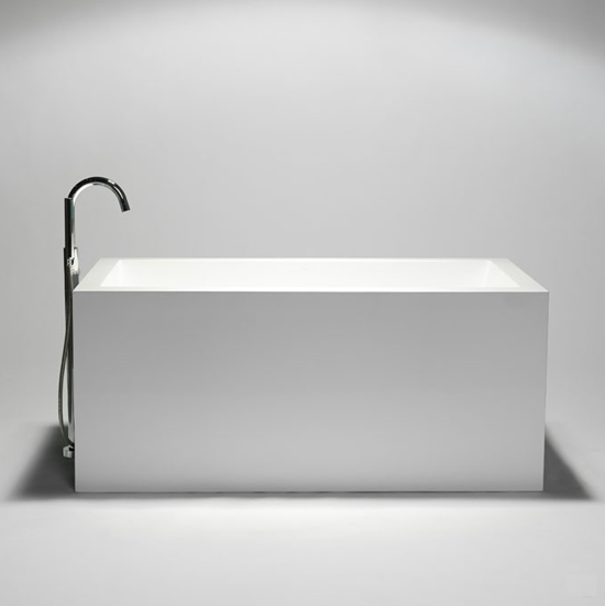 blu stone rectangular freestanding bathtub BT0102