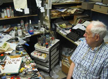 Charley Harper in his studio