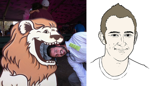 Scott Taylor and the Lion Avatar