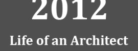 2012 Life of an Architect Thumbnail