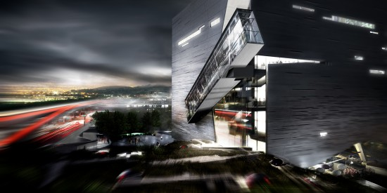 Morphosis Science & Nature Iconic Night View