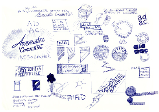 Dallas AIA Associates Committee logo