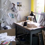 Architecture Student Work Desks