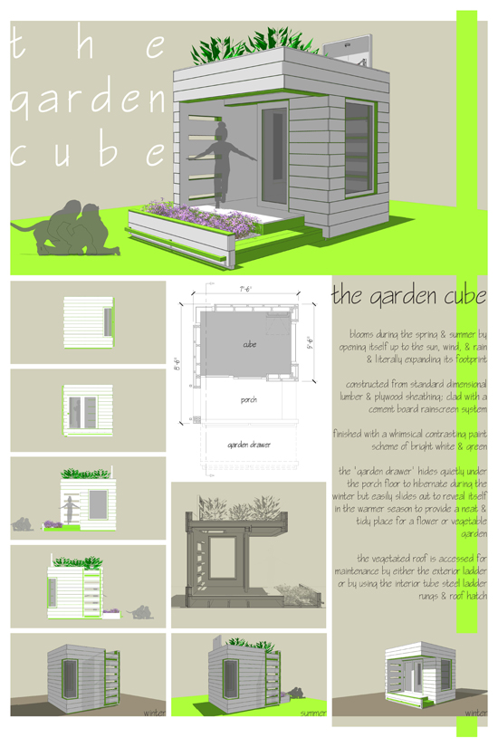 The Garden Cube by Preston Croxford
