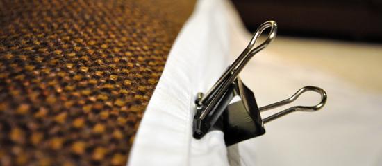 binder clip for fort building